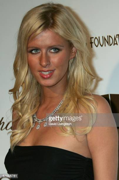 Actress Nicky Hilton arrives at the 14th Annual Elton John Academy Awards viewing party held at the Pacific Design Center on March 5 2006 in West...