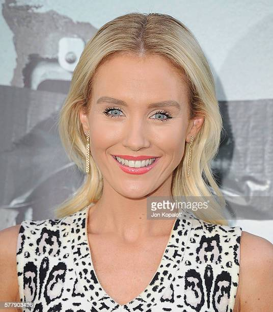 Actress Nicky Whelan arrives at the Los Angeles Premiere 'Lights Out' at TCL Chinese Theatre on July 19 2016 in Hollywood California