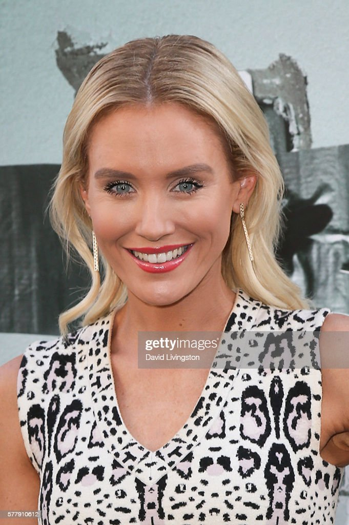 Actress Nicky Whelan arrives at the premiere of New Line Cinema's 'Lights Out' at the TCL Chinese Theatre on July 19 2016 in Hollywood California