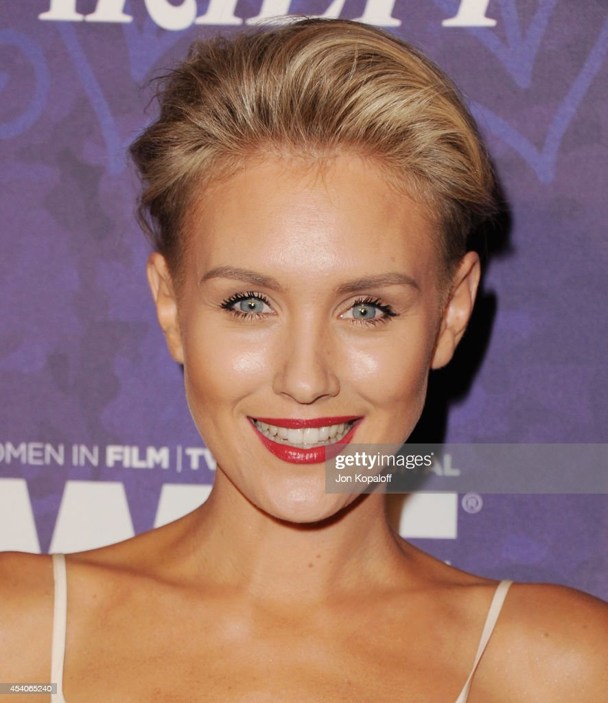 Actress Nicky Whelan arrives at Variety And Women In Film Annual Pre-Emmy Celebration at Gracias Madre on August 23, 2014 in West Hollywood, California.