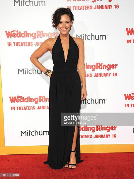 Actress Nicky Whelan arrives for the Premiere Of Screen Gems' 'The Wedding Ringer' held at TCL Chinese Theatre on January 6 2015 in Hollywood...
