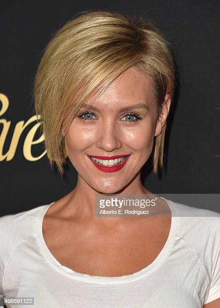 Actress Nicky Whelan attends LATINA Magazine's 'Hollywood Hot List' party at the Sunset Tower Hotel on October 2 2014 in West Hollywood California