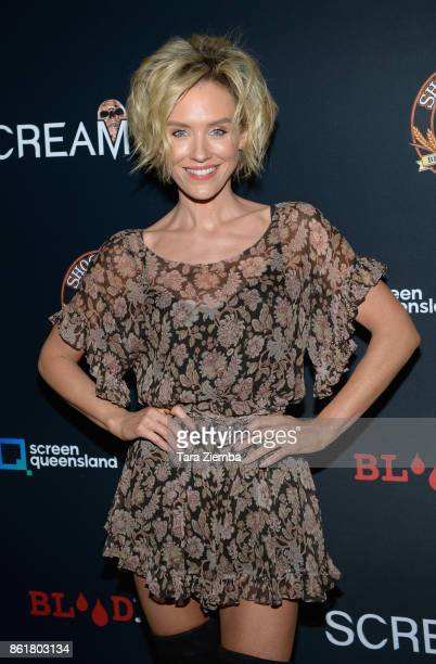 Actress Nicky Whelan attends the 2017 Screamfest Horror Film Festival at TCL Chinese 6 Theatres on October 15 2017 in Hollywood California