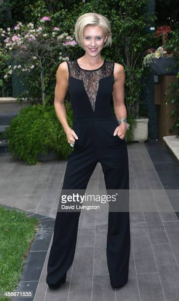 Actress Nicky Whelan attends the ABCs Mother's Day Luncheon at the Four Seasons Hotel Los Angeles at Beverly Hills on May 7 2014 in Beverly Hills...