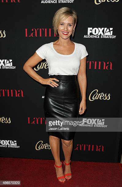Actress Nicky Whelan attends the Latina Magazine 'Hollywood Hot List' party at Sunset Tower Hotel on October 2 2014 in West Hollywood California