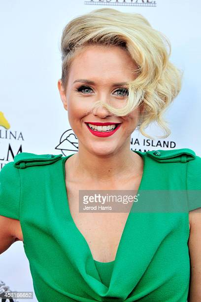 Actress Nicky Whelan attends the premiere of 'Left Behind' at the 2014 Catalina Film Festival on September 26 2014 in Catalina Island California