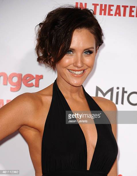 Actress Nicky Whelan attends the premiere of 'The Wedding Ringer' at TCL Chinese Theatre on January 6 2015 in Hollywood California