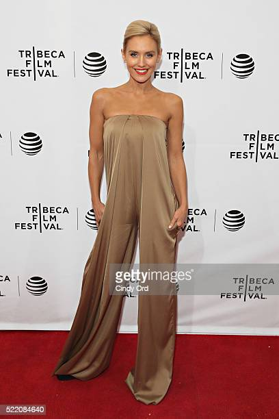 Actress Nicky Whelan attends the 'Rebirth' Premiere during the 2016 Tribeca Film Festivalat SVA Theatre 2 on April 17 2016 in New York City