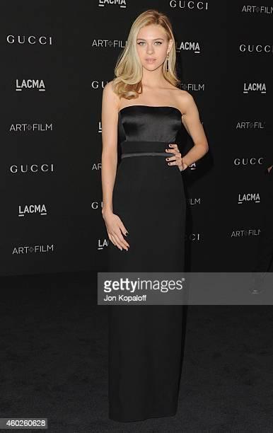 Actress Nicola Peltz arrives at the 2014 LACMA Art Film Gala Honoring Quentin Tarantino And Barbara Kruger at LACMA on November 1 2014 in Los Angeles...