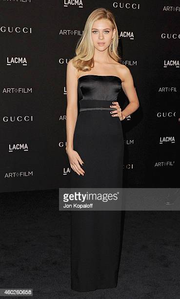 Actress Nicola Peltz arrives at the 2014 LACMA Art Film Gala Honoring Quentin Tarantino And Barbara Kruger at LACMA on November 1 2014 in Los Angeles...