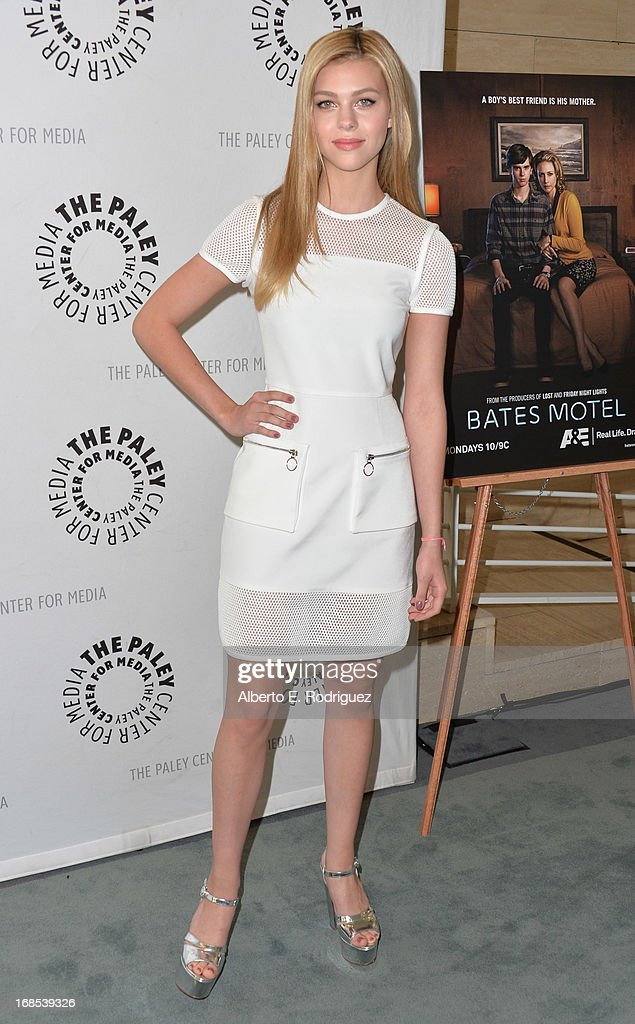 Actress Nicola Peltz arrivies to The Paley Center for Media Presents 'Bates Motel: Reimagining A Cinema Icon' at The Paley Center for Media on May 10, 2013 in Beverly Hills, California.