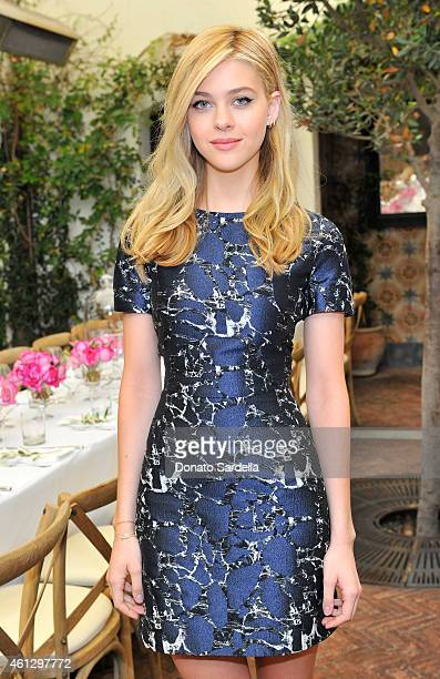 Actress Nicola Peltz attends Lynn Hirschberg Celebrates W's It Girls with Piaget and Dom Perignon at AOC on January 10 2015 in Los Angeles California