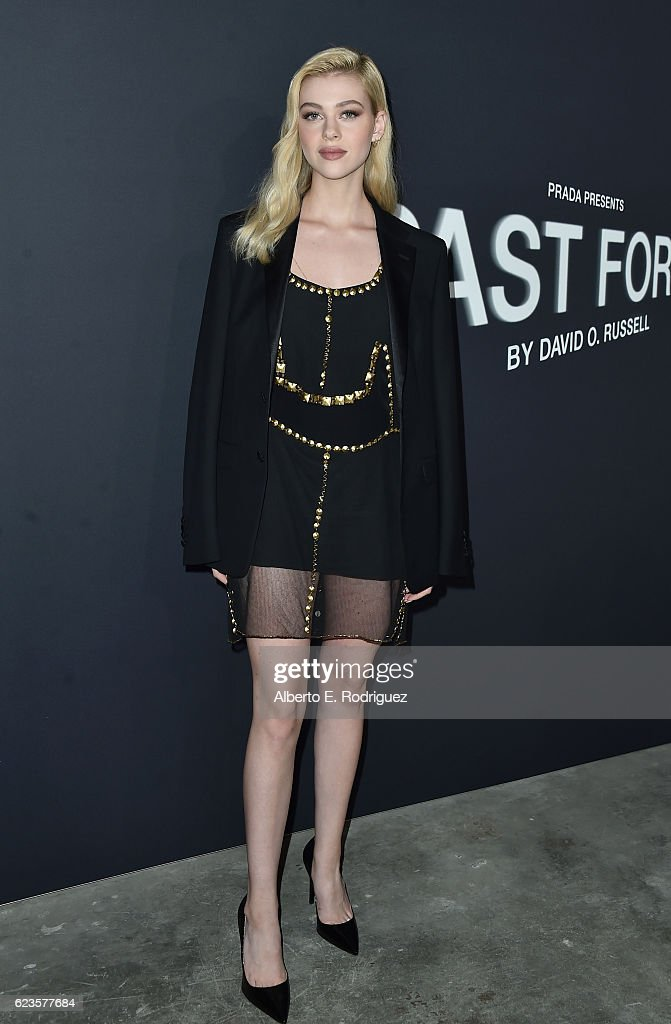 Actress Nicola Peltz attends Prada Presents 'Past Forward' by David O. Russell premiere at Hauser Wirth & Schimmel on November 15, 2016 in Los Angeles, California.