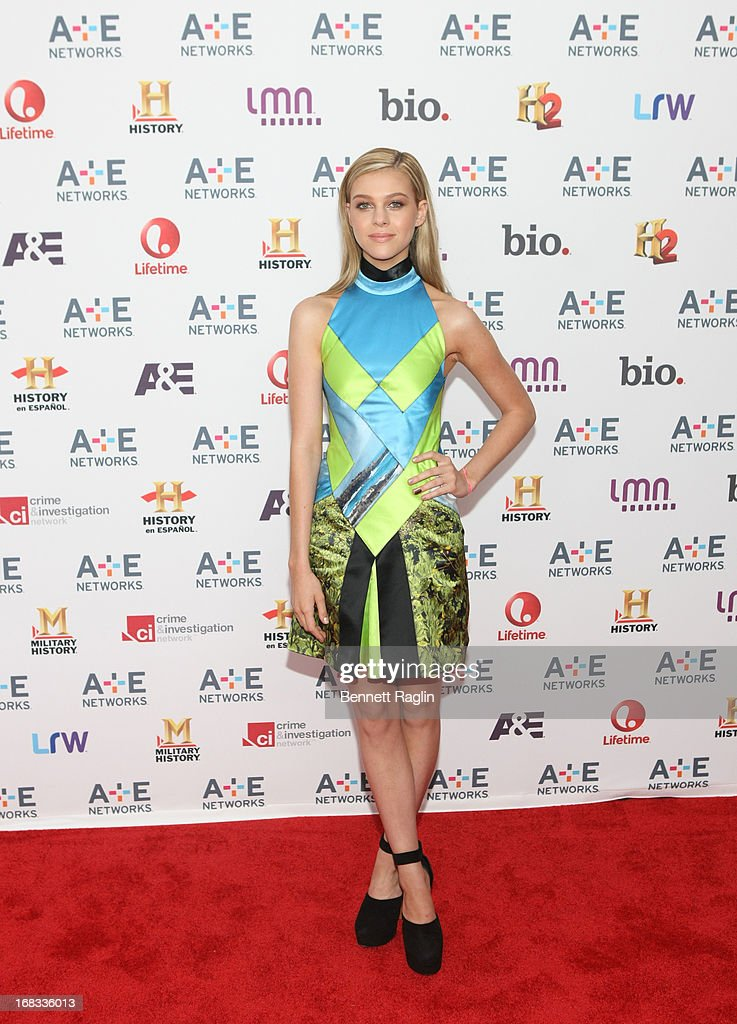 Actress Nicola Peltz attends the 2013 A+E Networks Upfront at Lincoln Center on May 8, 2013 in New York City.