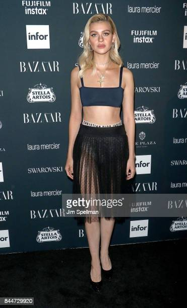Actress Nicola Peltz attends the 2017 Harper's Bazaar Icons at The Plaza Hotel on September 8 2017 in New York City