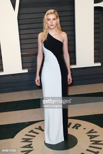 Actress Nicola Peltz attends the 2017 Vanity Fair Oscar Party hosted by Graydon Carter at the Wallis Annenberg Center for the Performing Arts on...