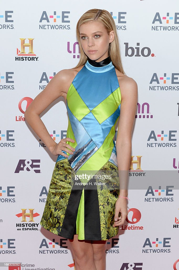 Actress Nicola Peltz attends the A+E Networks 2013 Upfront on May 8, 2013 in New York City.