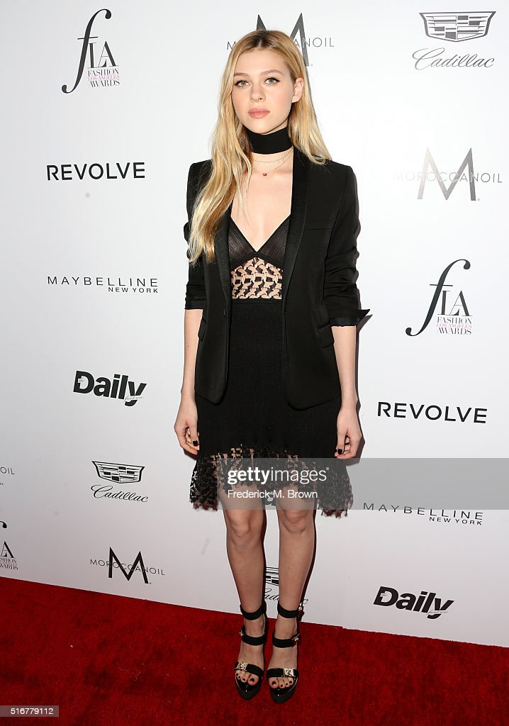 Actress Nicola Peltz attends the Daily Front Row 'Fashion Los Angeles Awards' at Sunset Tower Hotel on March 20 2016 in West Hollywood California