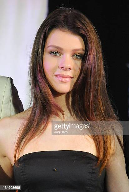 Actress Nicola Peltz attends the Tokyo Premiere for 'The Last Airbender' at Lalaport Toyosu on July 6 2010 in Tokyo Japan The film will open on July...