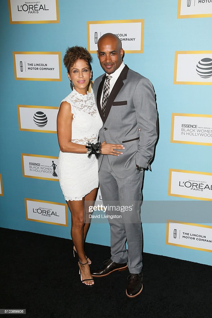 Actress Nicole Ari Parker and Boris Kodjoe arrive at the Essence 9th Annual Black Women event in Hollywood at the Beverly Wilshire Four Seasons Hotel...
