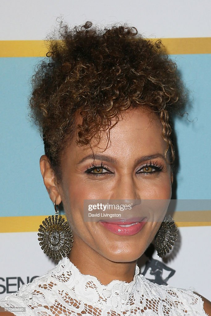 Actress Nicole Ari Parker arrives at the Essence 9th Annual Black Women event in Hollywood at the Beverly Wilshire Four Seasons Hotel on February 25...