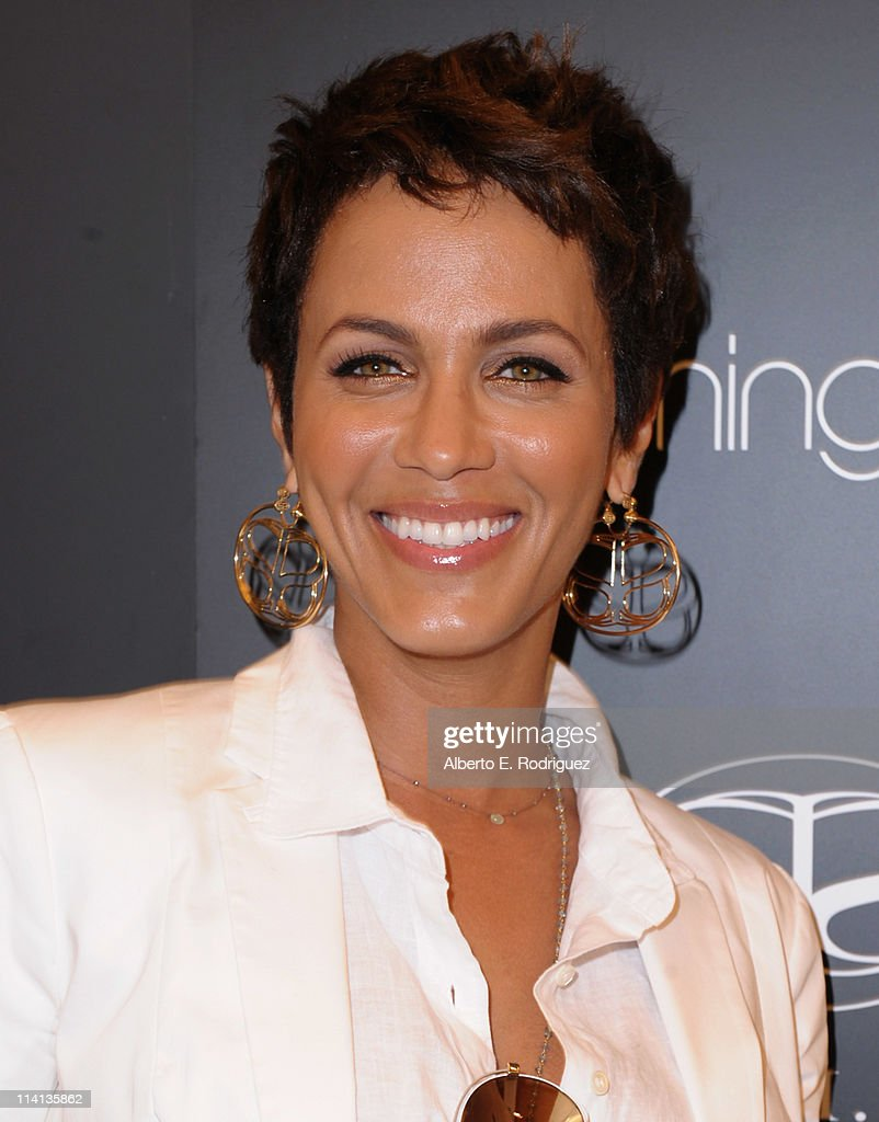 Actress Nicole Ari Parker attends a personal appearance by Simone I Smith at Bloomingdale's on May 12 2011 in Century City California