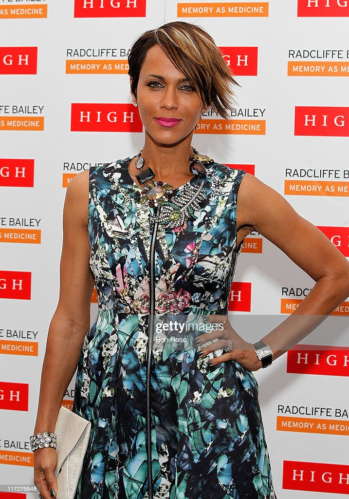 Actress Nicole Ari Parker attends a private reception for the opening of the exhibition 'Radcliffe Bailey : Memory as Medicine' at High Museum of Art on June 24, 2011 in Atlanta, Georgia.