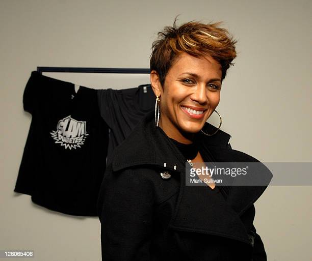 Actress Nicole Ari Parker attends Backstage Creations Celebrity Retreat at Shaq's AllStar Weekend Day 1 at Nokia Theatre LA Live on February 18 2011...