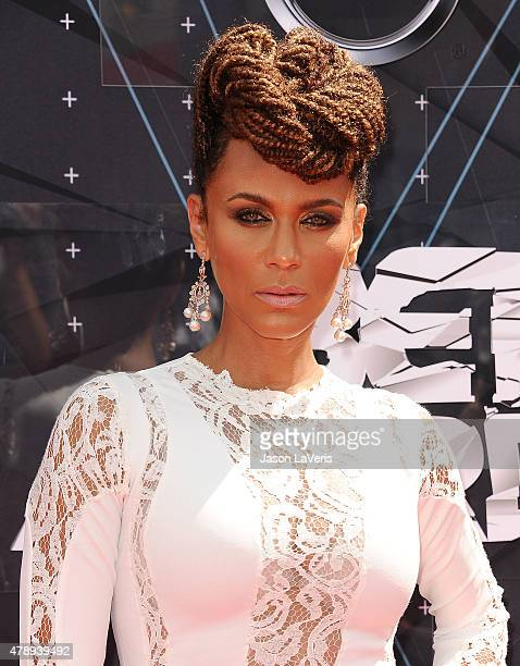 Actress Nicole Ari Parker attends the 2015 BET Awards at the Microsoft Theater on June 28 2015 in Los Angeles California