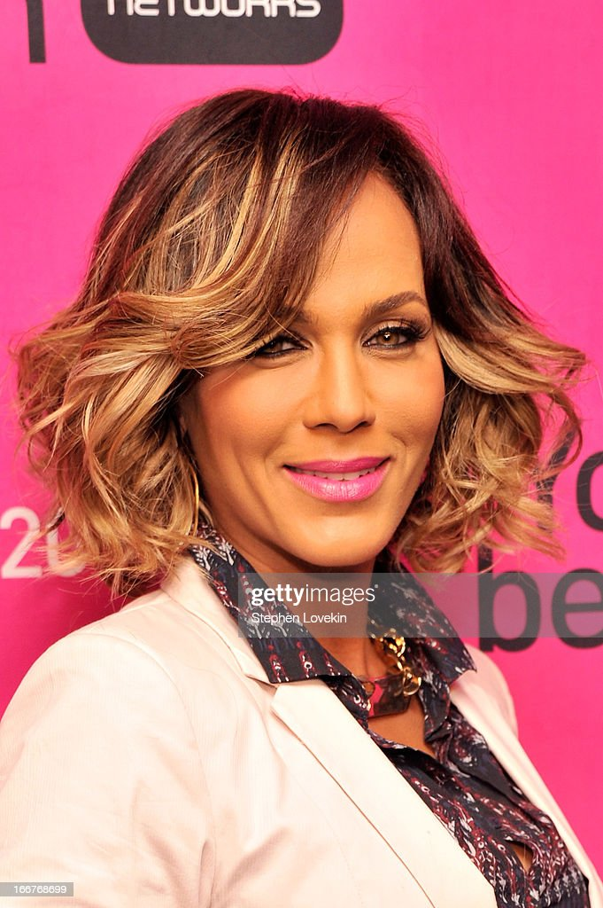 Actress Nicole Ari Parker attends the BET Networks 2013 New York Upfront on April 16, 2013 in New York City.