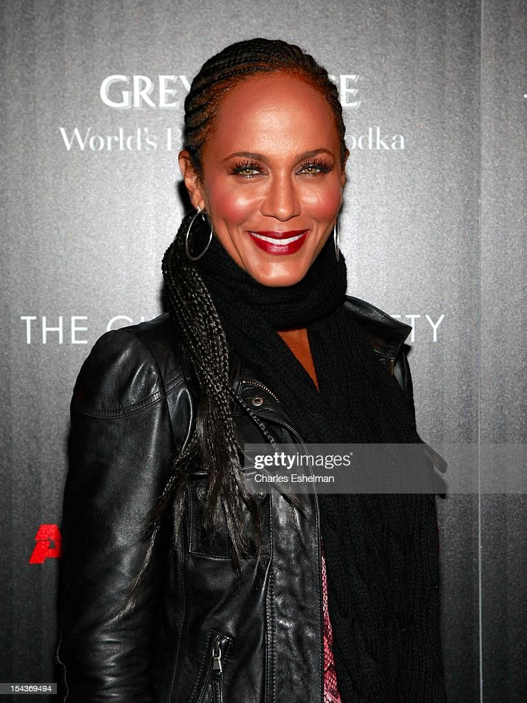 Actress Nicole Ari Parker attends The the Cinema Society & Grey Goose screening of 'Alex Cross' at Tribeca Grand Screening Room on October 18, 2012 in New York City.
