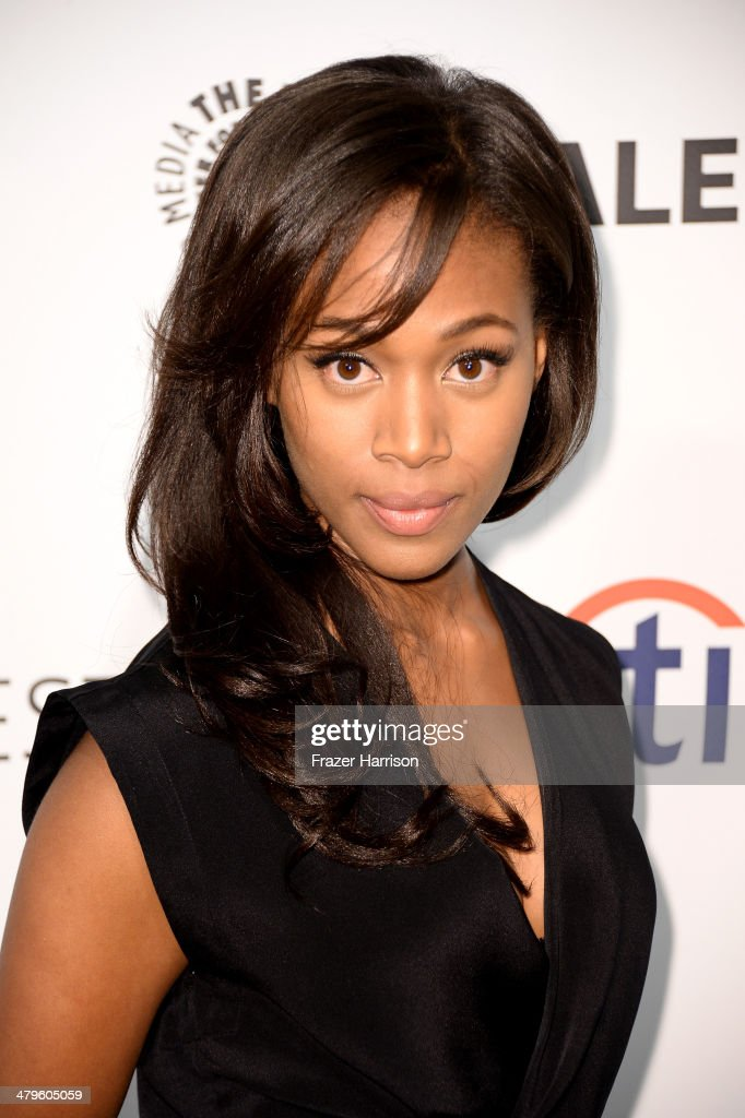 Actress <a gi-track='captionPersonalityLinkClicked' href=/galleries/search?phrase=Nicole+Beharie&family=editorial&specificpeople=5806791 ng-click='$event.stopPropagation()'>Nicole Beharie</a> arrives at The Paley Center for Media's PaleyFest 2014 Honoring 'Sleepy Hollow' at Dolby Theatre on March 19, 2014 in Hollywood, California.