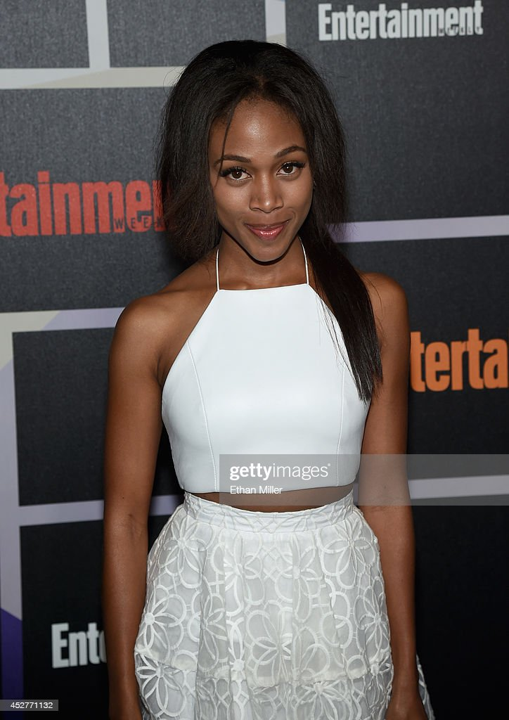 Actress <a gi-track='captionPersonalityLinkClicked' href=/galleries/search?phrase=Nicole+Beharie&family=editorial&specificpeople=5806791 ng-click='$event.stopPropagation()'>Nicole Beharie</a> attends Entertainment Weekly's annual Comic-Con celebration at Float at Hard Rock Hotel San Diego on July 26, 2014 in San Diego, California.