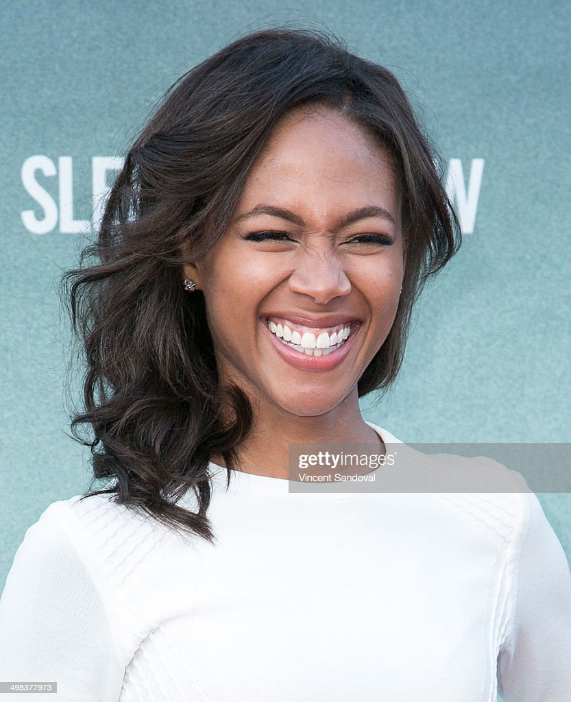 Actress Nicole Beharie attends Los Angeles special screening and Q&A of FOX's 'Sleepy Hollow' at Hollywood Forever on June 2, 2014 in Hollywood, California.