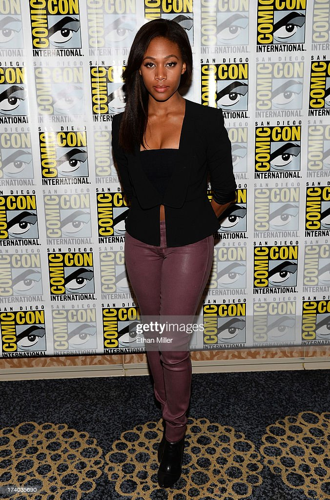 Actress Nicole Beharie attends the 'Sleepy Hollow' press line during Comic-Con International 2013 at the Hilton San Diego Bayfront Hotel on July 19, 2013 in San Diego, California.