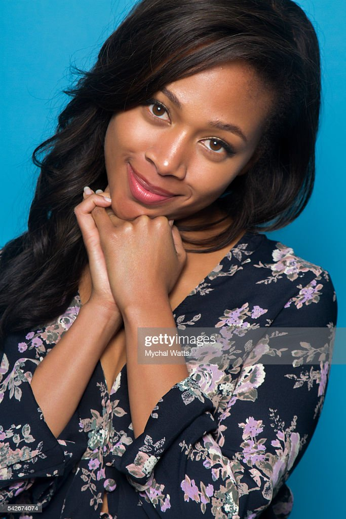 Actress <a gi-track='captionPersonalityLinkClicked' href=/galleries/search?phrase=Nicole+Beharie&family=editorial&specificpeople=5806791 ng-click='$event.stopPropagation()'>Nicole Beharie</a> poses for a portrait at the American Black Film Festival on June 19, 2016 at the Ritz Carlton in Miami, Florida.