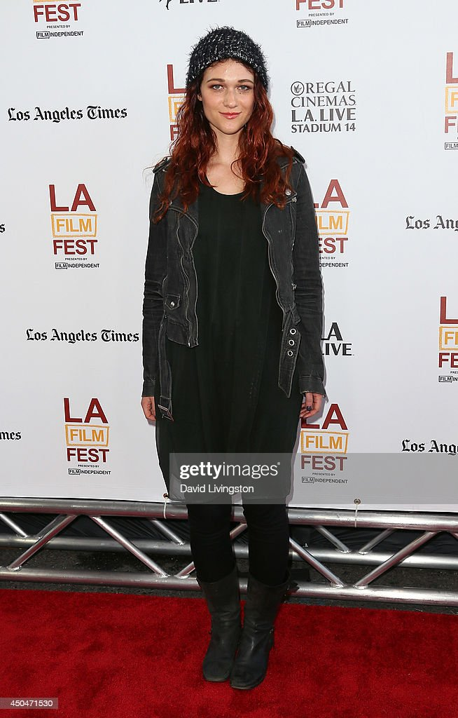 Actress Nicole Fox attends the 2014 Los Angeles Film Festival opening night premiere of 'Snowpiercer' at Regal Cinemas L.A. Live on June 11, 2014 in Los Angeles, California.