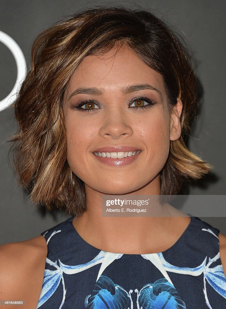Actress Nicole Gale Anderson arrives to Audi Celebrates Golden Globes Weekend at Cecconi's Restaurant on January 9, 2014 in Los Angeles, California.