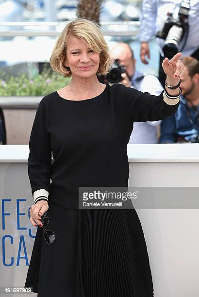Actress Nicole Garcia attends the 'Camera D'Or' Photocall at the 67th Annual Cannes Film Festival on May 17 2014 in Cannes France
