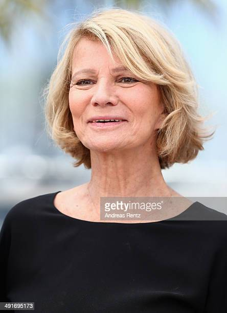Actress Nicole Garcia attends the photocall for the Jury Camera D'Or at the 67th Annual Cannes Film Festival on May 17 2014 in Cannes France