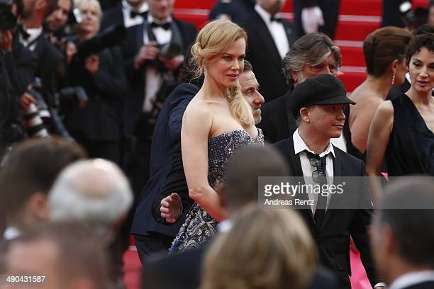 Actress Nicole Kidman actor Tim Roth and director Olivier Dahan attend the Opening ceremony and the 'Grace of Monaco' Premiere during the 67th Annual...