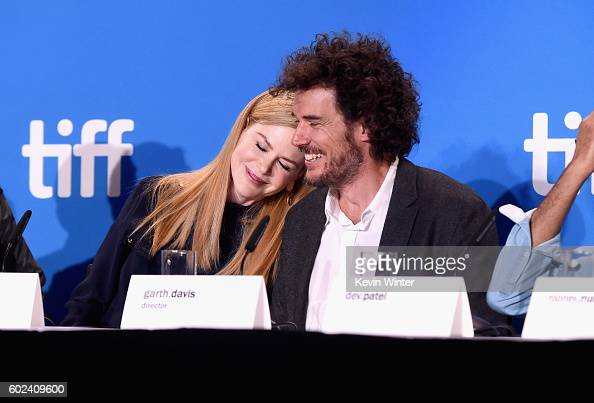 Actress Nicole Kidman and director Garth Davis speak onstage at the 'Lion' Press Conference during 2016 Toronto International Film Festival at TIFF...
