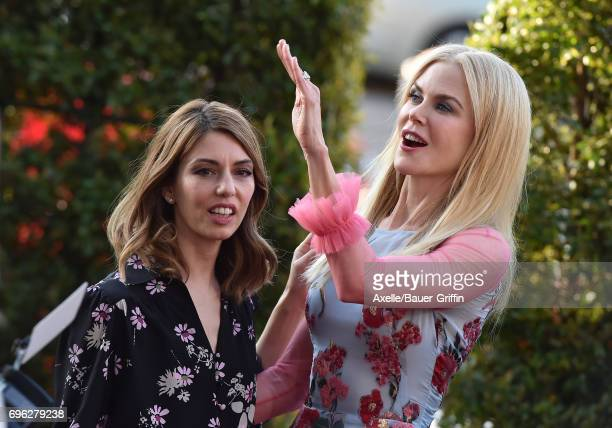 Actress Nicole Kidman and director Sofia Coppola arrive at the US Premiere of 'The Beguiled' at Directors Guild of America on June 12 2017 in Los...