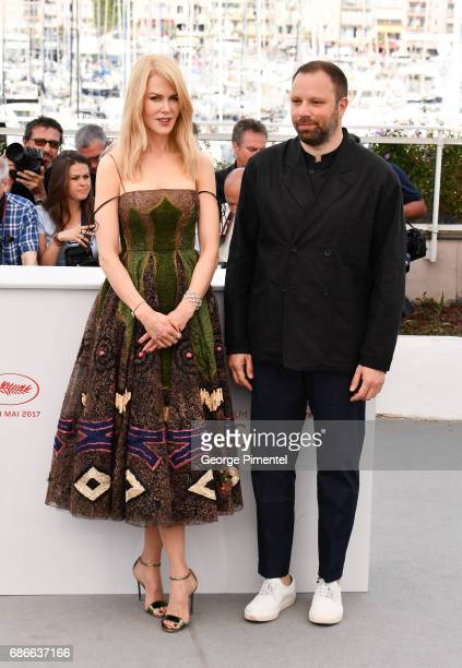 Actress Nicole Kidman and director Yorgos Lanthimos and attends the 'The Killing Of A Sacred Deer' photocall during the 70th annual Cannes Film...