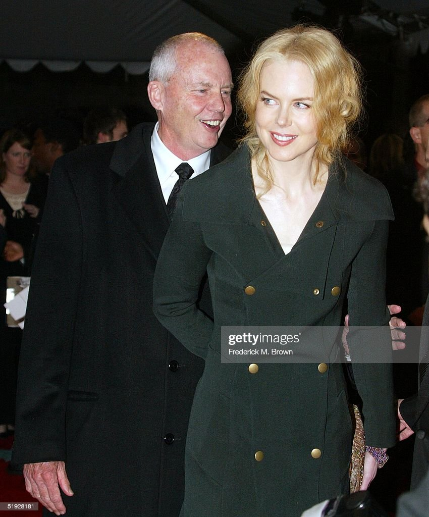 Actress <a gi-track='captionPersonalityLinkClicked' href=/galleries/search?phrase=Nicole+Kidman&family=editorial&specificpeople=156404 ng-click='$event.stopPropagation()'>Nicole Kidman</a> (R) and her father <a gi-track='captionPersonalityLinkClicked' href=/galleries/search?phrase=Antony+Kidman&family=editorial&specificpeople=2256365 ng-click='$event.stopPropagation()'>Antony Kidman</a> attend the 16th Annual Palm Springs International Film Festival at the Palm Springs Convention Center on January 8, 2005 in Palm Springs, California.