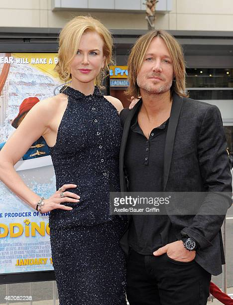 Actress Nicole Kidman and husband Keith Urban arrive at the Los Angeles premiere of 'Paddington' at TCL Chinese Theatre IMAX on January 10 2015 in...