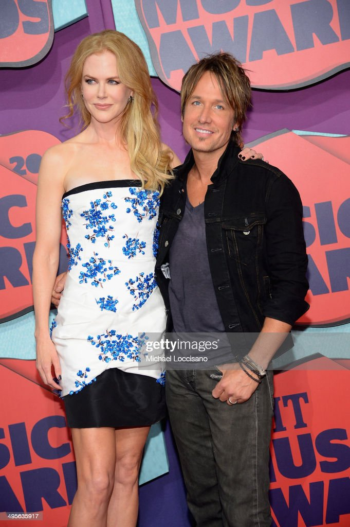 Actress Nicole Kidman and Keith Urban attend the 2014 CMT Music awards at the Bridgestone Arena on June 4, 2014 in Nashville, Tennessee.