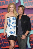 Actress Nicole Kidman and Keith Urban attend the 2014 CMT Music awards at the Bridgestone Arena on June 4 2014 in Nashville Tennessee