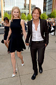 Actress Nicole Kidman and musician Keith Urban arrive at the 2013 CMT Music Awards at the Bridgestone Arena on June 5 2013 in Nashville Tennessee