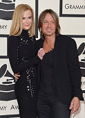 Actress Nicole Kidman and musician Keith Urban arrive at the 57th Annual GRAMMY Awards at Staples Center on February 8 2015 in Los Angeles California